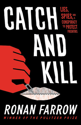 Catch and Kill book by Ronan Farrow for Holiday book recommendations.