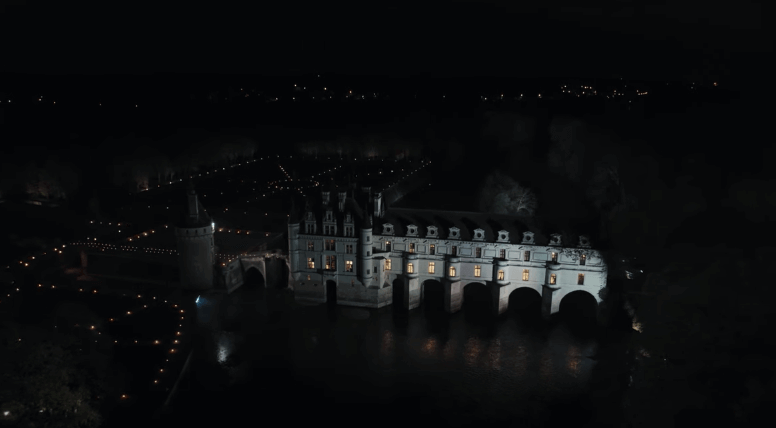 Château de Chenonceau used as the set location for the Chanel fashion show.
