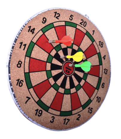 Dartboard as a Christmas gift for your college boyfriend.