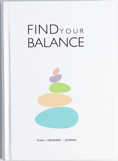 Daily Planner and happiness tracker - Christmas gift ideas for women.