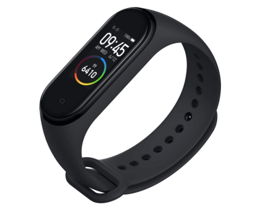 Fitness band as a Christmas gift for men.