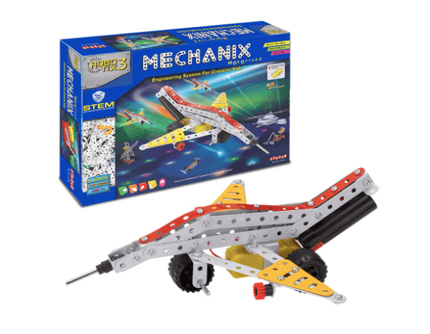 Large mechanix set as a Christmas gift for your son.