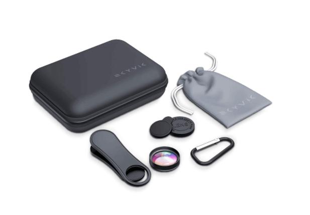 Macro lens for mobiles as a Christmas gift for photographers.