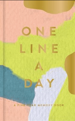 One Line A Day Gratitude Journal for Christmas gift ideas for women.