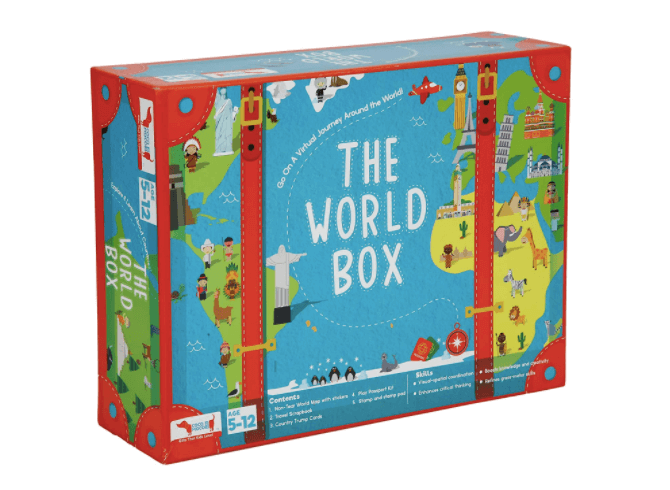World Box - Christmas gift ideas for daughters.