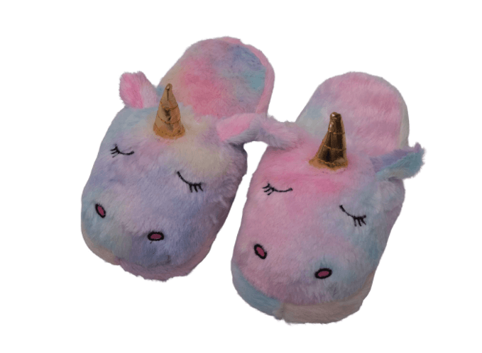 Soft Unicorn home-slippers- gift ideas for girls.