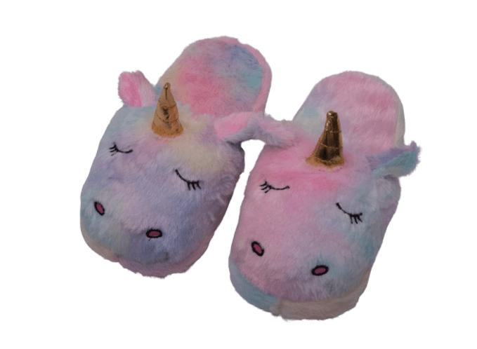 Soft Unicorn home-slippers- gift ideas for girls.